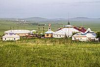 草原深处的蒙古包
