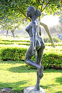 人物雕塑图片素材