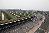 北京航站楼汽车通道