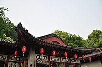 杭州特产古建筑商店