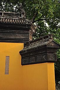 黄色古建筑