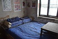 杨家埠民俗文化村古代卧室场景