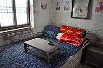 杨家埠民俗文化村里的土炕