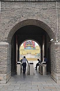 杨家埠民俗文化大观园入口