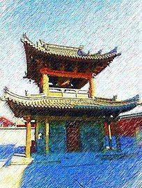 应县木塔建筑