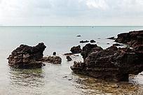 广西涠洲岛  火山岩自然景观