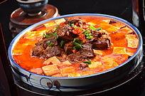 麻婆豆腐烧牛腩