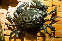 铁艺制品大螃蟹
