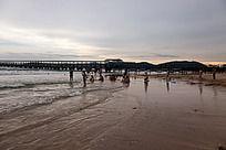 亚龙湾夕阳