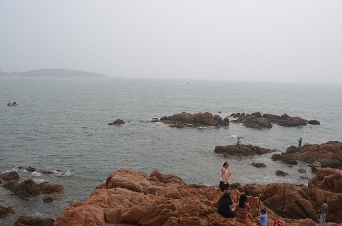 青岛海洋沙滩摄影