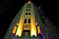 夜拍353商业中心广场