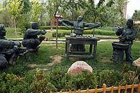 兰州拉面主题雕塑