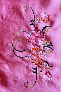 小花朵刺绣布料贴图