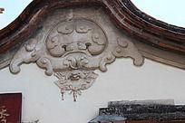 老旧房角装饰   传统图案房子装饰