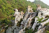 奇特的柏溪燕山山石