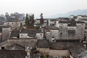 黟县南屏村落的建筑风情
