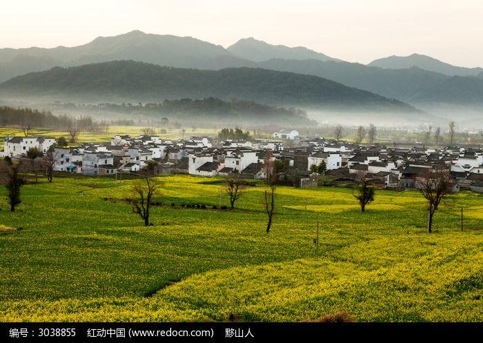 黟县卢村的自然风光