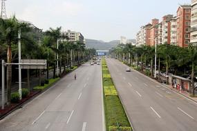 城市里的大马路