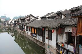 南翔古镇河畔建筑