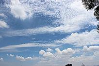 白云  天空  光线