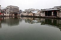 黟县宏村月昭的自然景观
