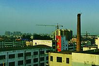 菏泽城的一角