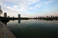 龙源湖公园风景