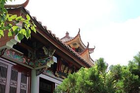 地藏阁寺庙建筑