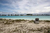 静想海滩一线风光