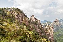 黄山笔架峰自然风光