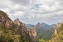 黄山自然景观