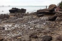 涠洲岛 火山岩海滩