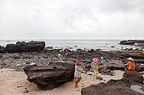 涠洲岛 火山岩景区海滩