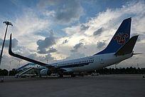白云机场起待飞行飞机