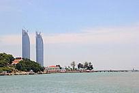 滨海城市建筑摄影
