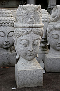 女神像石头雕刻