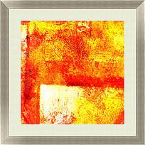 色彩抽象油画