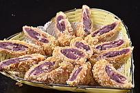 酥炸紫薯卷