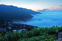 歙县蜈蚣岭的黎明