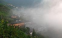 歙县蜈蚣岭雾气