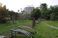 公园锻炼身体的场所