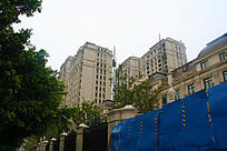 欧式风格小区建设中