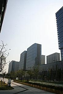 现代都市高楼大厦建筑