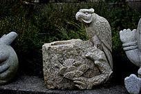 动物石头雕刻图片摄影