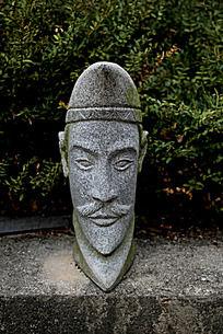 古代人物雕刻艺术图片摄影
