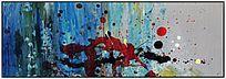 无框画 抽象油画