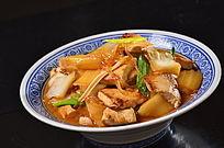 白菜豆腐烧粉条