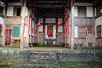 传统建筑大堂