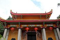 传统寺庙建筑