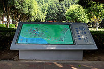 厦门大学校园平面地图